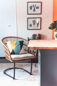 Färgrika inredningar. Inredningsinspo för att våga använda mer färg hemma. Sätt färg på ditt vardagsrum, kök, badrum, sovrum m.m.