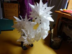 Naehoma - moni: Weihnachtliche Papiersterne