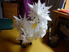 Naehoma - moni: Weihnachtliche Papiersterne Paper Crafts, Bird, Inspiration, Decor, Places, Christmas, Crafting, Biblical Inspiration, Decoration