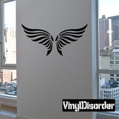 Wings Wall Decal - Vinyl Decal - Car Decal - DC12079