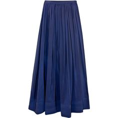 Cynthia Rowley Trapunto Maxi Skirt found on Polyvore... I had a skirt just like this in the late 90's.  Everything comes back around eventually.