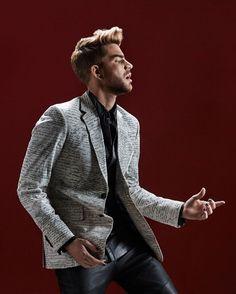 Adam Lambert in FAULT magazine