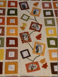 Signature Wedding Quilt - could also do this for graduation, a birthday, anniversary, or whatever. cute idea!