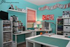 ::sigh:: Oh, disposable income… What a gorgeous craft room.