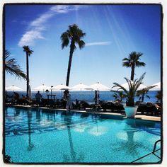 Bonita foto de nuestra piscina tomada ayer por la mañana. Se ve mejor con días soleados ;)   Beautiful picture of our pool taken yesterday in the morning. It looks better with sunny days ;)   Purobeach Marbella