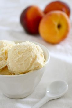 Peach Ice Cream and a Giveaway! | Annie's Eats http://www.annies-eats.com/2011/07/15/peach-ice-cream-and-a-giveaway/