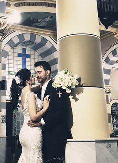 Casal Samira e Renan no ensaio deles após o SIM.  Organizado pela Communiquer Eventos.  #casamento #noivos