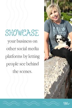 Showcase your business on other social media platforms by letting people see behind the scenes. Social Media Quotes, Social Media Tips, Social Media Marketing, Business Tips, Successful Business, Best Entrepreneurs, How To Know, Platforms, Behind The Scenes
