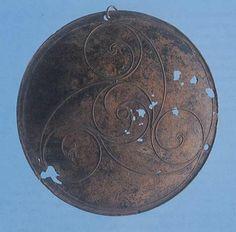 Shee-Eire site for Celtic lore (Bronze Disc with La Téne decoration)