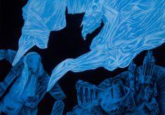 """Pegasus"" by Clive Hicks-Jenkins, 2015"