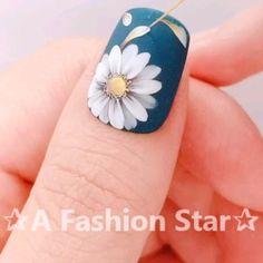 Nail Art Hacks, Nail Art Diy, Diy Nails, Cute Nails, New Nail Art, Nail Art Designs Videos, Nail Art Videos, Gel Nail Art Designs, Nails Design