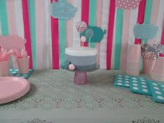 Cake I made for my daughters kitty cat birthday party!
