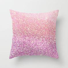 GATSBY GOLD PINK Throw Pillow