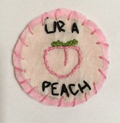 #Quotes Peaches Peach Patch Patches Fashion Cute