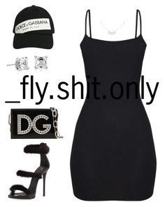 """Untitled #3104"" by flyyshitonly ❤ liked on Polyvore featuring Dolce&Gabbana, Giuseppe Zanotti, Blue Nile and Christian Dior"