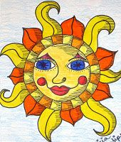 I always enjoy the clever & artsy suns on my favourite tv show CBS Sunday Morning Sun Moon Stars, Sun And Stars, Good Morning Sunshine, Sunday Morning, Sun Drawing, Sun Worship, Sun Painting, Sun Designs, Sun Art