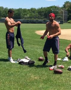 Jimmy Garoppolo and Julian Edelman
