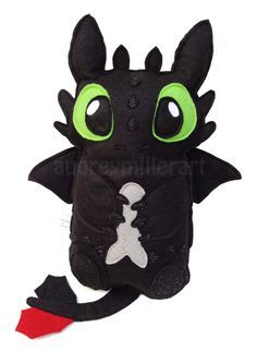 toothless's fish felt - Google Search
