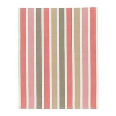 "EMMIE rug, flatwoven, pink Length: 2 ' 7 "" Width: 2 ' 0 "" Surface density: 4 oz/sq ft Length: 80 cm Width: 60 cm Surface density: 1110 g/m²"