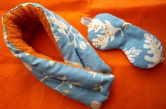 Home spa set - cervical scarf & eye mask