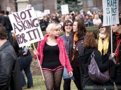 Women should be able to choose their clothing without fear of sexual assault. Human Rights, Women's Rights, Gender Equity, Writer, Novels, Punk, Clothes, Fashion, Tall Clothing