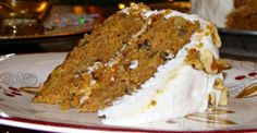 Pineapple and Carrot Cake
