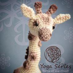 Crochet giraffe pattern, Amigurumi giraffe pattern, giraffe crochet pattern, little crochet giraffe, giraffe on wire