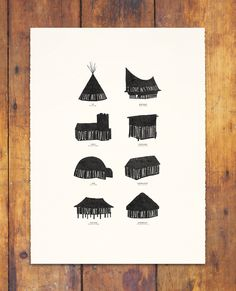 HOMESTEAD STACKED by beauchamping on Etsy