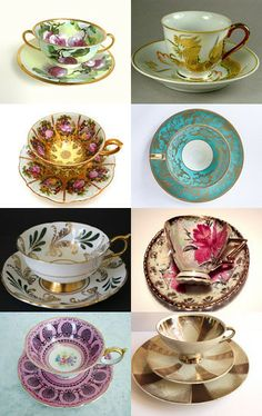 An Interesting Cup of Tea! by Kimberley Greeno on Etsy--Pinned with TreasuryPin.com  Teacups!!!!!!!!!!!!!