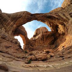 Double Arch, Utah