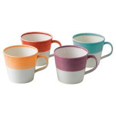 Dipped mug set