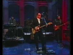 Elvis Costello - Peace, Love, & Understanding - David Letterman Show