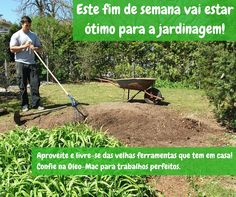 Bom fim de semana de sol!  #oleomac #oleomacportugal #jardinagem #jardim #jardineiro #fimdesemana #sol