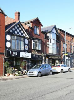 #Prestwich, Businesses on Bury New Road.
