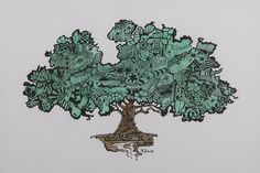 Tree of Bounty Drawing by Wendell Fiock Art For Sale, How To Draw Hands, Doodles, Greeting Cards, My Arts, Wall Art, Drawings, Sketches, Drawing