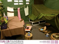 Professional Development and support for educators, parents, organisations and the community. Camping Dramatic Play, Dramatic Play Area, Dramatic Play Centers, Inquiry Based Learning, Early Learning, Role Play Areas, Eyfs Activities, Creative Activities For Kids, School Sets