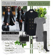 A fashion look from September 2014 featuring Nougat dresses, Burberry coats and Jimmy Choo boots. Browse and shop related looks.