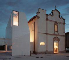 Historic Chapel Modern Library Renovation
