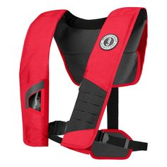 Check out Mustang DLX 38 De... that is now available at Outdoorsman USA! See it on our site here. http://outdoorsman-usa.myshopify.com/products/mustang-dlx-38-deluxe-manual-inflatable-pfd-red-black?utm_campaign=social_autopilot&utm_source=pin&utm_medium=pin