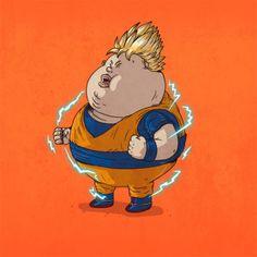 Chubby hero.