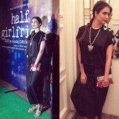 About last night at #halfgirlfriend success party! Thanx @ektaravikapoor