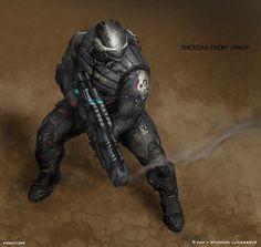 Sheridan Armor Author: Josh Nizzi
