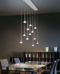 lustre avec lumières LED par Axo Light