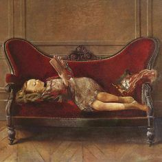 Le canapé rouge / The red couch Follow @pierre_carron for more 🎨 . #pierrecarron . #paintingoftheday #artdaily #oilpaint #artists #arts #artistofinstagram #instaartwork #gallery #contemporaryartist #frenchart #artinsta #paintingoncanvas #paintersofinstagram #galeriedart #artistepeintre #peinturealhuile #artgalerie #beautyofart #artcomtemporain #academicpainting #colorfulgirl #colorfull #redcouch #galleries #exibition #paintingart #tableau #beautifulart #colorfulart