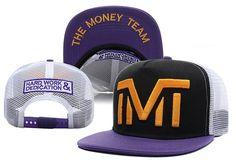 6baef7c41 HOT TMT The Money Team Trucker mesh Snapback Mens And Womens pop Hats  Adjustable Baseball Caps