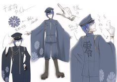 "Hatsune Miku's ""Senbonzakura"" Concept Art | 「お祝い&千本桜・設定書」/「一斗まる」の漫画 [pixiv] [10]"