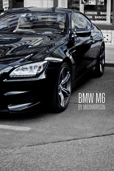 I'm honestly jealous of anyone who has a #BMW I have one but mine is an M3 2014! But what the hell I want this M6 now!!!! #BMW M6