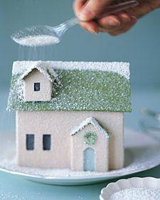 Зимняя рождественская деревня » Мой дом. Креативные идеи и рецепты для всей семьи.