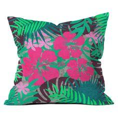 Deny Designs Emanuela Carratoni Tropicana Style Throw Pillow - 61015-OTHRP16