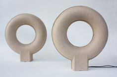 Pulpop Speakers by Balance Studio, amde from recycled paper.